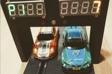 Building a Digital Slot Car Lap Counter